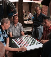 Game Play in Singapore Chinatown