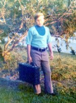 john with briefcase